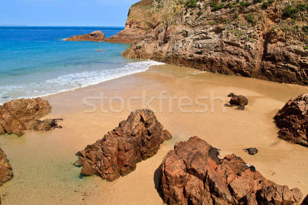 Plemont Beach, Jersey, Channel Islands, UK Stock photo © Bertl123