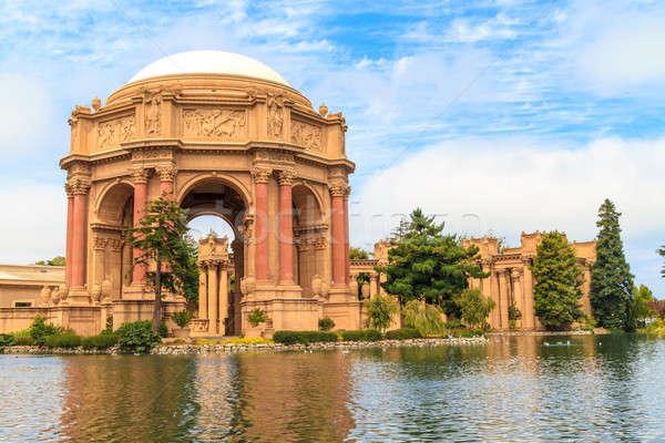 San Francisco, Exploratorium and Palace of Fine Art, California Stock photo © Bertl123