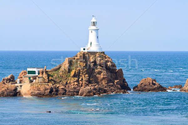 Corbiere Lighthouse, Jersey, The Channel Islands Stock photo © Bertl123