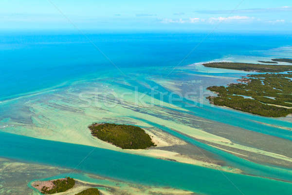 Florida Keys Aerial View Stock photo © Bertl123