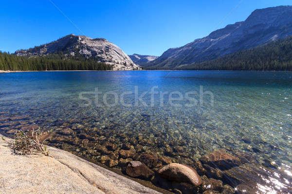 ヨセミテ国立公園 表示 湖 合格 カリフォルニア 水 ストックフォト © Bertl123
