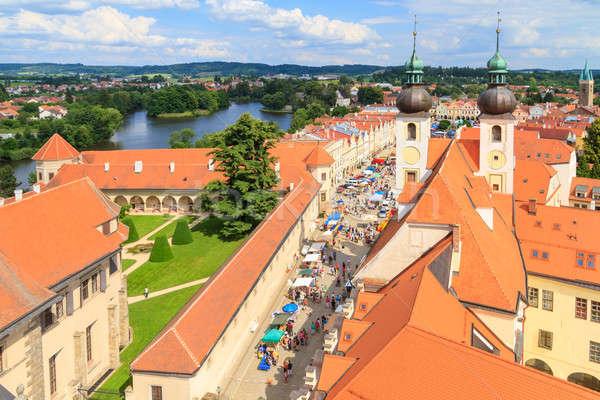мнение старый город ЮНЕСКО Мир наследие Сток-фото © Bertl123
