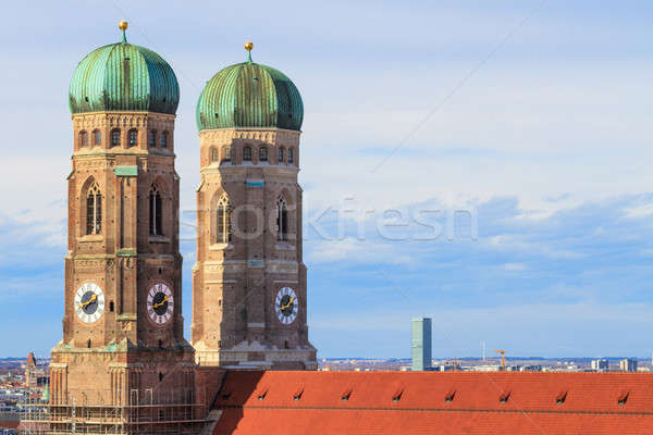 Munich, Frauenkirche, Cathedral of Our Dear Lady, Bavaria, Germa Stock photo © Bertl123