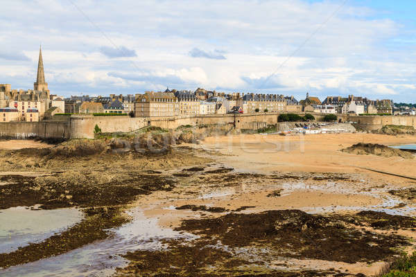 Saint Malo View on City Walls, France  Stock photo © Bertl123