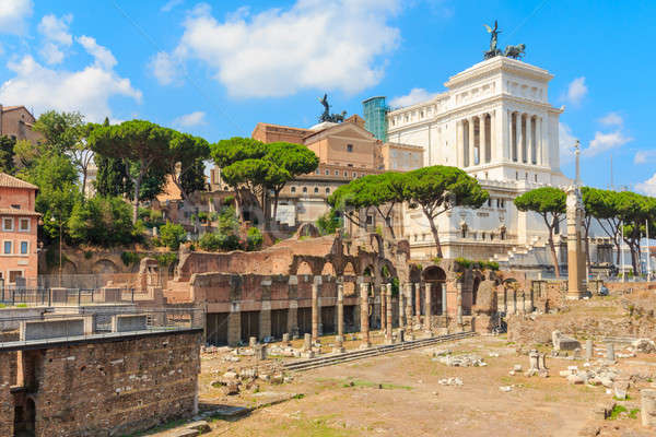 Forum Romanum (Roman Forum), Rome, Italy Stock photo © Bertl123