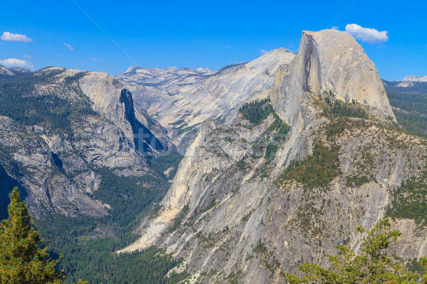 Half Dome, Yosemite National Park,  California Stock photo © Bertl123