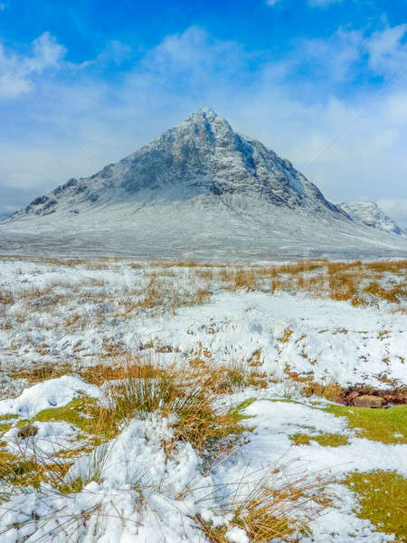 Scottish Highlands Scenic at Buachaille Etive Mor, Glencoe, Scot Stock photo © Bertl123