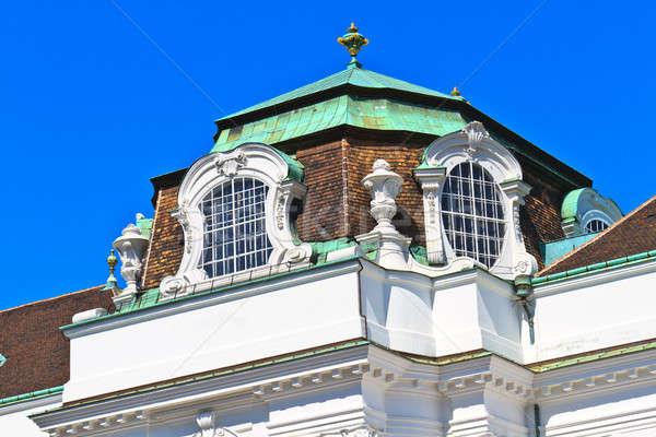 Vienna Hofburg Imperial Palace Architectural Details Stock photo © Bertl123
