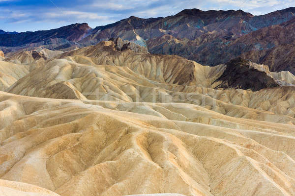 Zabriskie Point, Death Valley National Park, California Stock photo © Bertl123