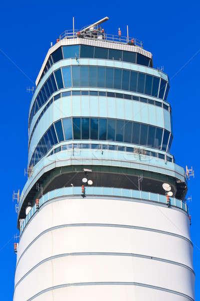 Сток-фото: аэропорту · башни · Вена · международных · Австрия · здании
