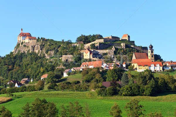 Riegersburg fortress and town, Styria, Austria Stock photo © Bertl123