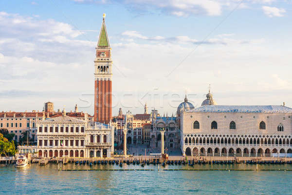 Venice, Piazza San Marco in the morning Stock photo © Bertl123
