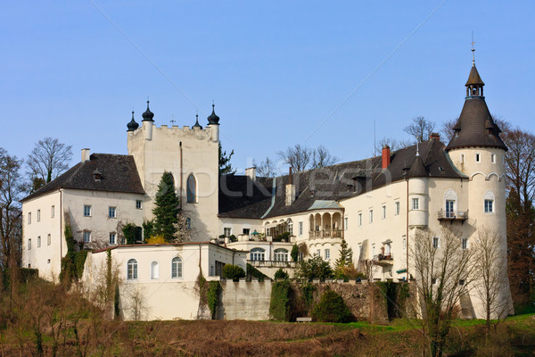 Castello danubio fiume Austria valle frazione Foto d'archivio © Bertl123