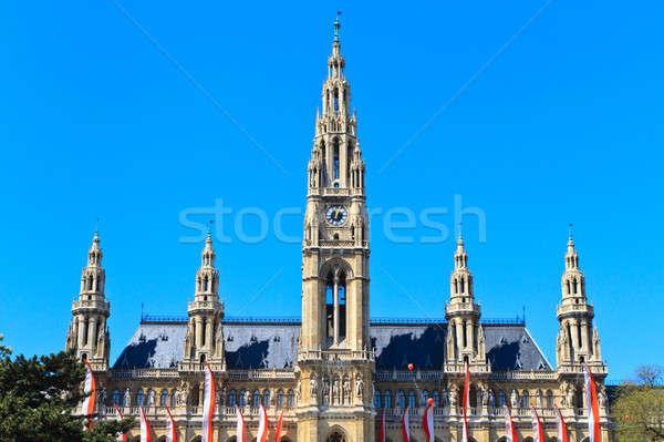 City Hall of Vienna (Rathaus) Stock photo © Bertl123