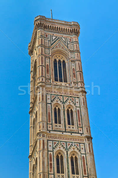 Florence Cathedral Tower (Duomo di Firenze) Stock photo © Bertl123