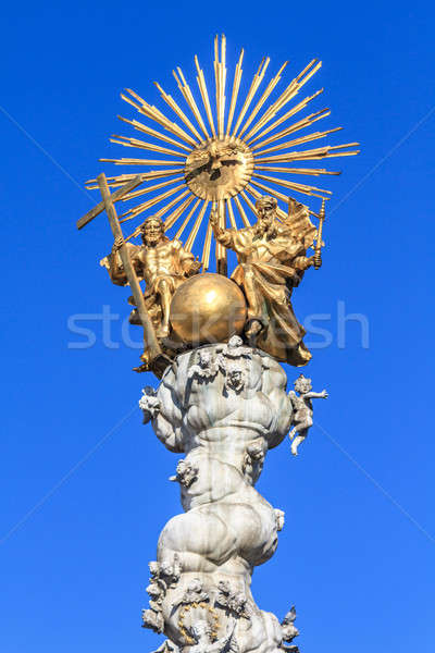 Baroque Trinity Column in Linz, Austria Stock photo © Bertl123