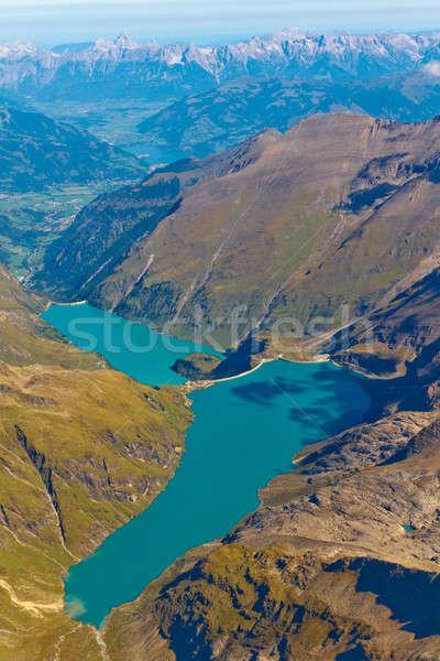 Сток-фото: водохранилище · озеро · Австрия · горные