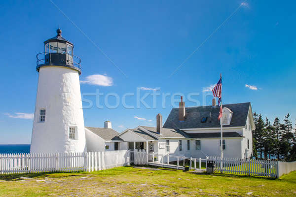 Pemaquid Point Lighthouse, Maine, USA Stock photo © Bertl123