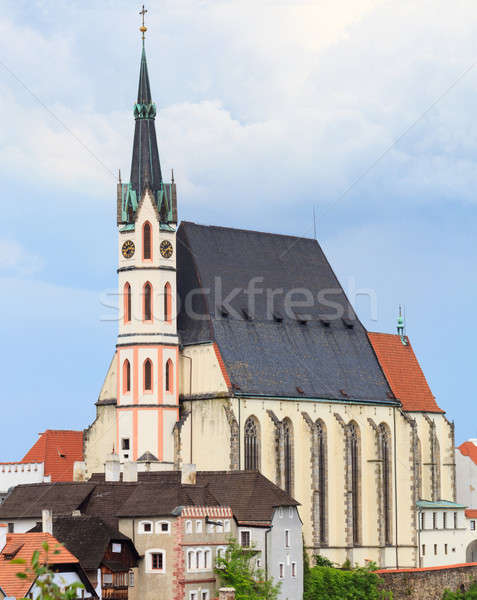 Cesky Krumlov / Krumau, Saint Vitus Cathedral Stock photo © Bertl123