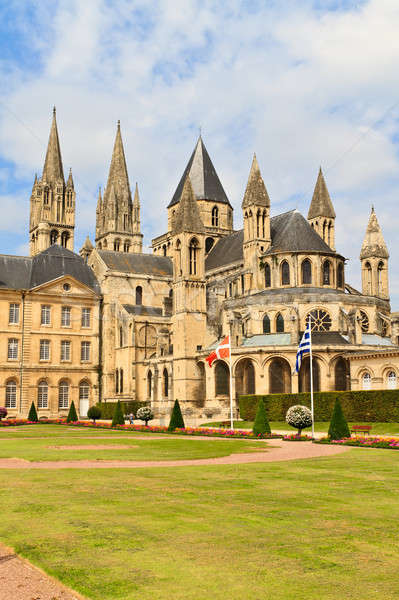 Caen (Normandy, France), Abbaye aux hommes Stock photo © Bertl123