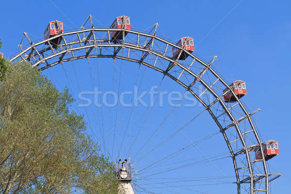 Vienna Giant Ferries Wheel (Riesenrad)  Stock photo © Bertl123