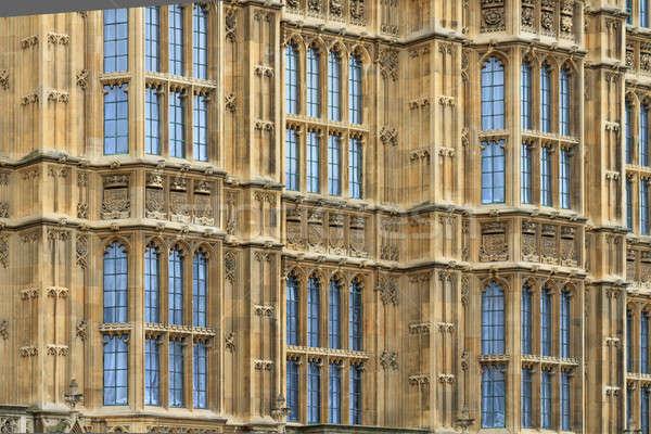 住宅 議会 細部 ロンドン 建物 ストックフォト © Bertl123