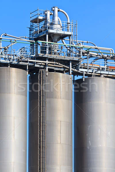 Industry Bulk Tank / Silo Stock photo © Bertl123