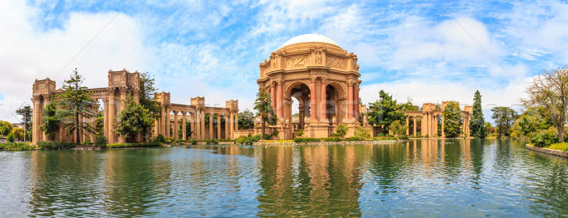 San Francisco Panorama, Exploratorium and Palace of Fine Art, Ca Stock photo © Bertl123
