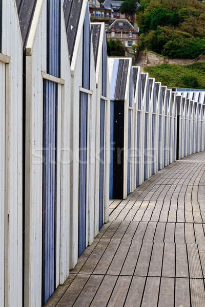 Huts on the beach Stock photo © Bertl123
