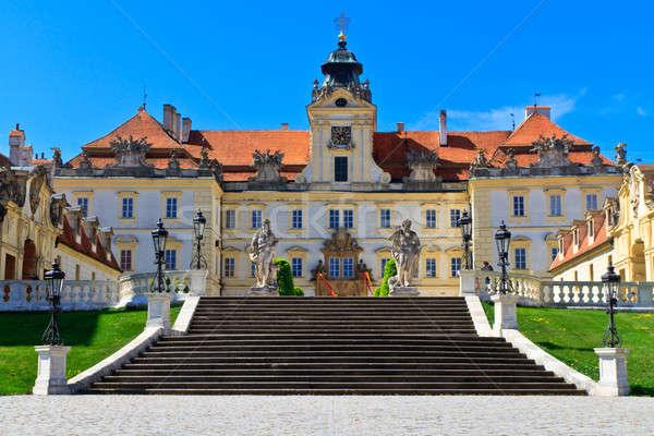 Palota unesco világ örökség helyszín Csehország Stock fotó © Bertl123