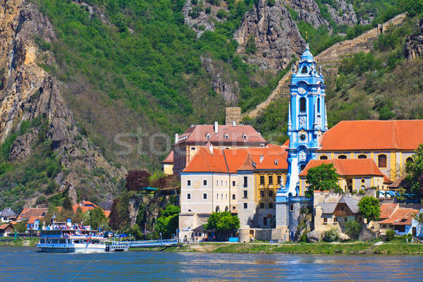 Durnstein on the river danube (Wachau Valley), Austria Stock photo © Bertl123