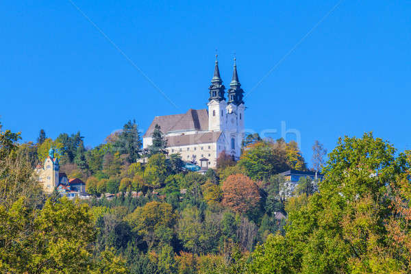 Poestlingberg Basilica, Linz, Austria Stock photo © Bertl123