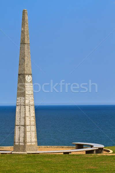 Plaj ilk piyade normandiya Fransa deniz Stok fotoğraf © Bertl123
