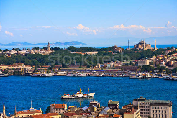 Istanbul Golden Horn View Stock photo © Bertl123