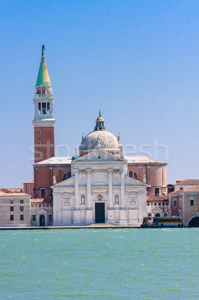 Venice - San Giorgio Maggiore Church Stock photo © Bertl123
