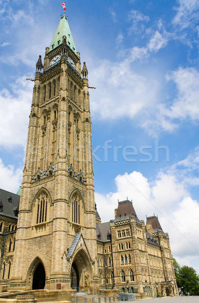 Canadian Parliament Building Tower, Ottawa, Canada Stock photo © Bertl123