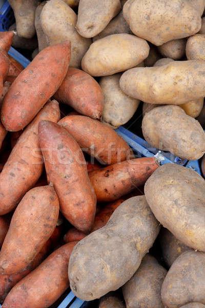 Organisch zoete lokaal markt voedsel Stockfoto © Bertl123