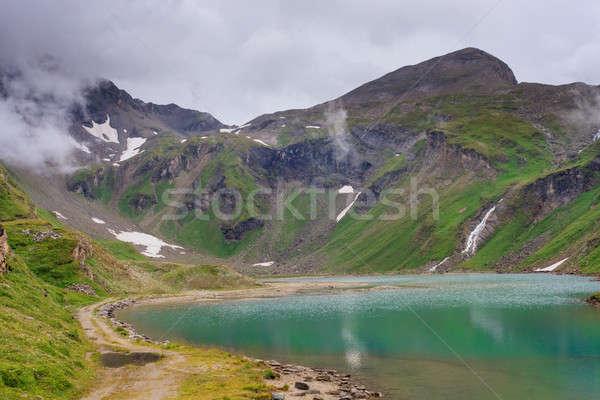 Alpine landscape with beautiful lake  Stock photo © Bertl123