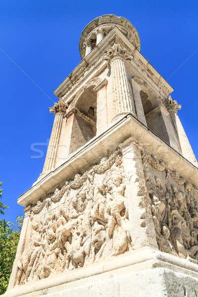 ローマ 市 フランス 春 青 像 ストックフォト © Bertl123