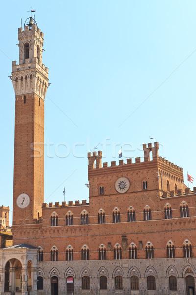 Siena - Palazzo Pubblico (Palazzo Comunale), Italy Stock photo © Bertl123