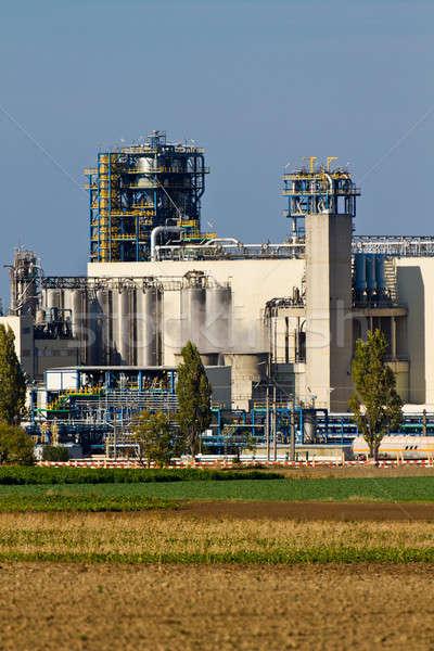 Oil Refinery Stock photo © Bertl123
