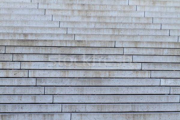 Beton trap patroon bouw muur ontwerp Stockfoto © Bertl123