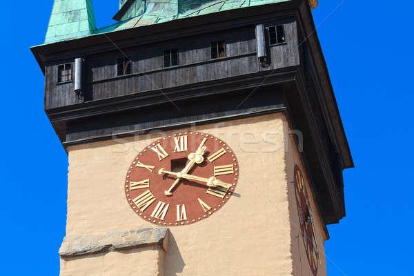 Town hall Tower, Znojmo / Znaim, Czech Republic  Stock photo © Bertl123