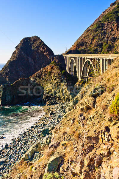 Big Sur California Coast Stock photo © Bertl123