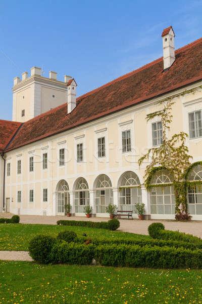 Enns Castle and Garden, Upper Austria Stock photo © Bertl123