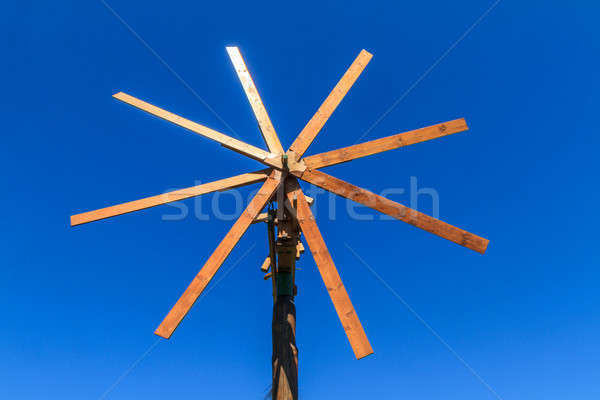 Wooden windmill (Klapotetz), Styria, Austria Stock photo © Bertl123