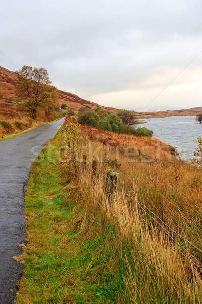 Scottish autumn highland landscape, Trossachs, Scotland Stock photo © Bertl123