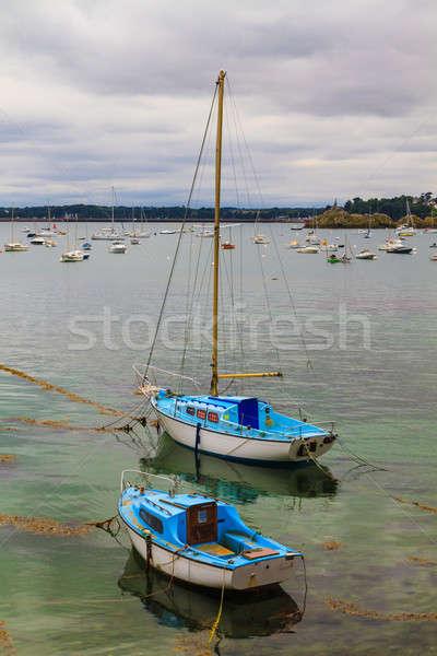 Sailing boats near St. Malo in Brittany, France  Stock photo © Bertl123