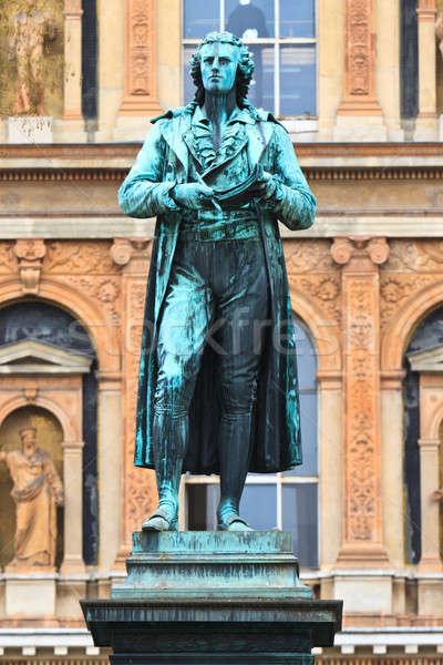 Friedrich Schiller Statue Stock photo © Bertl123