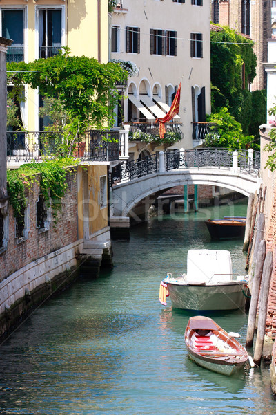 Venice Canal View, Italy Stock photo © Bertl123